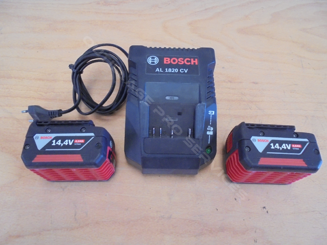 batteries Bosch 14.4V 4.0Ah - 2